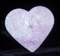 heart shape palm wax candle